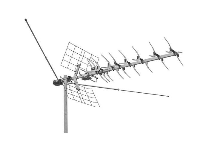 Тв антенна для дачи с усилителем своими руками